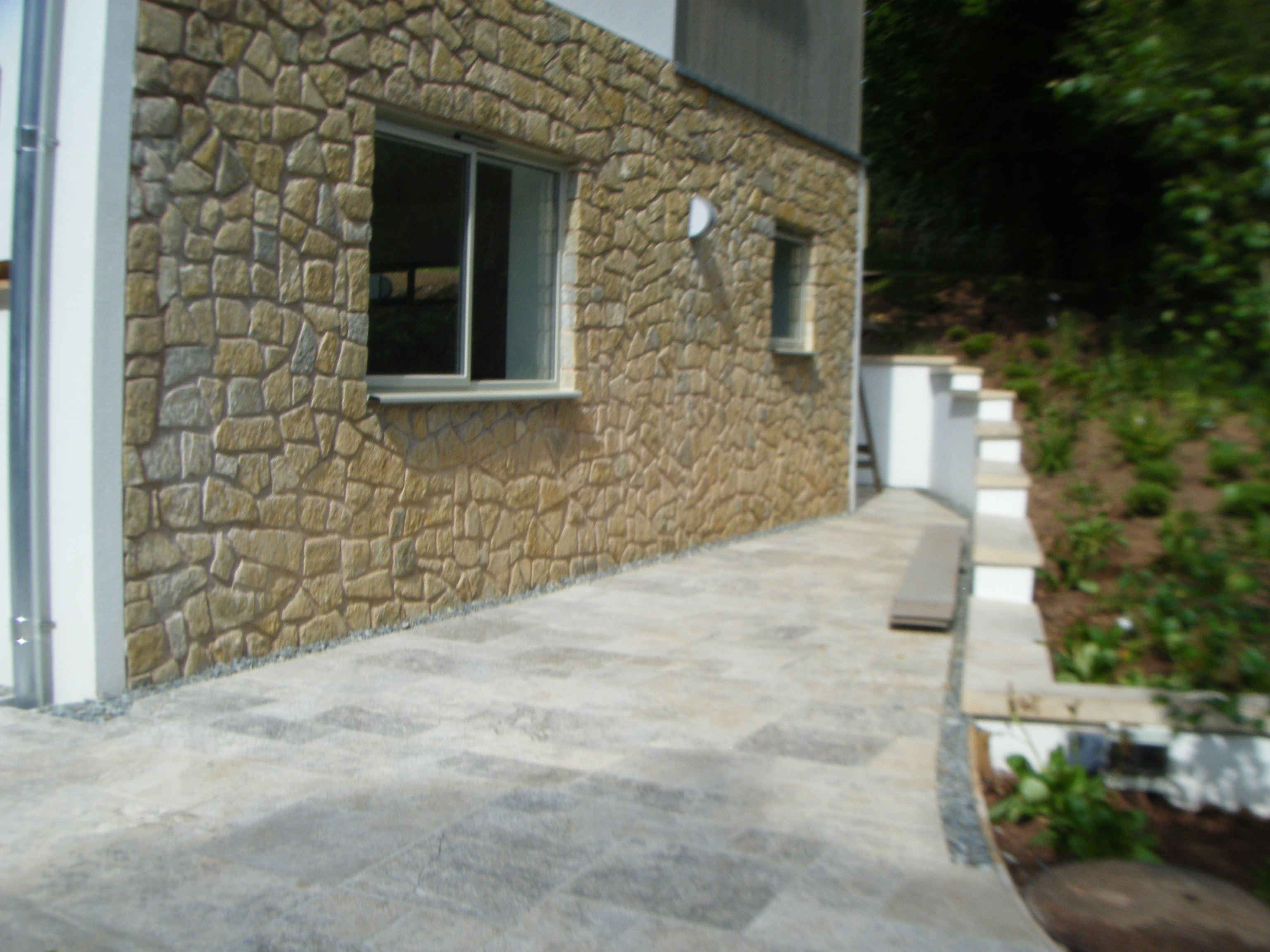 External Travertine Bristol Somerset