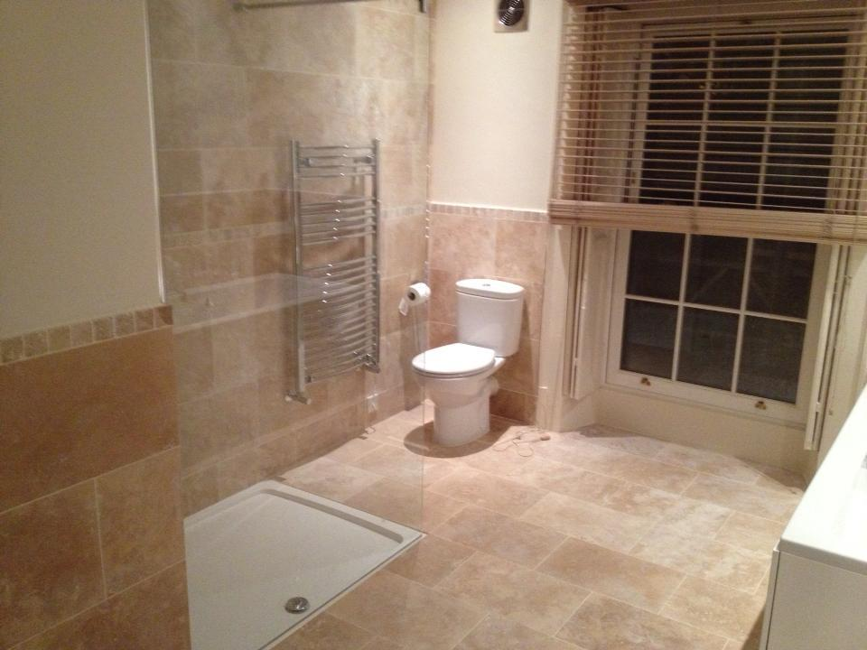 Ottoman Honed and Filled Travertine Bristol Somerset