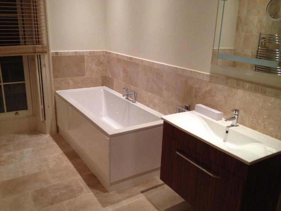 Ottoman Honed and Filled Travertine